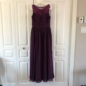 Gorgeous JJ's House Grape Prom Dress